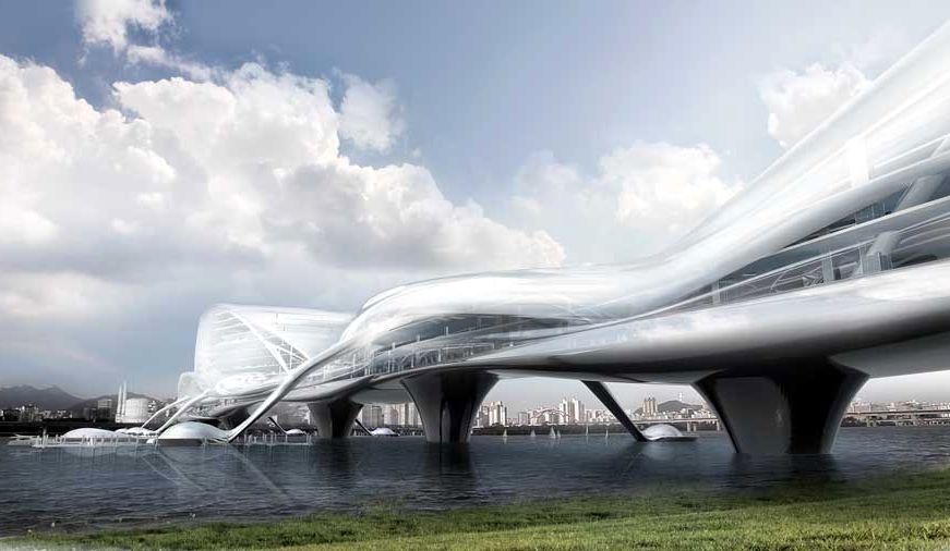 Мост будущего в Корее