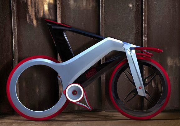 Изобретен велосипед будущего