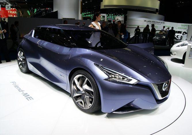 Дизайн концепт Nissan Friend-ME