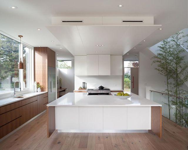 П-образный кухонный уголок
