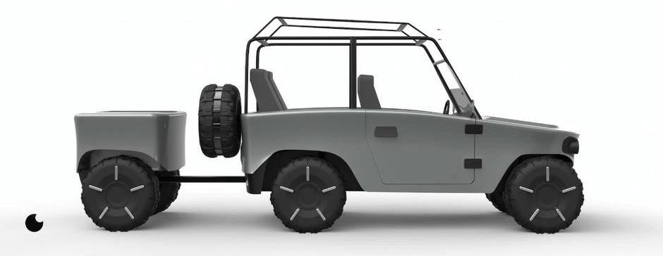 Пляжный автомобиль Сёгун