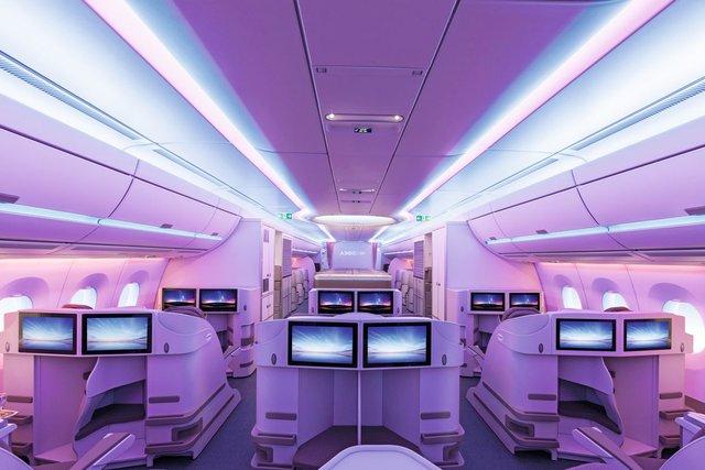 Салон Airbus A350 XWB