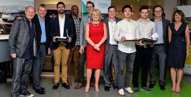 Жюри и победители конкурса Pilkington Vehicle Design Award 2016