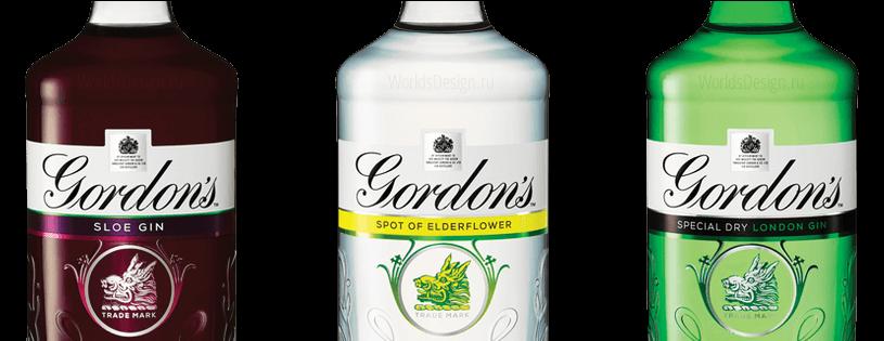 Gordon's бутылка 2016