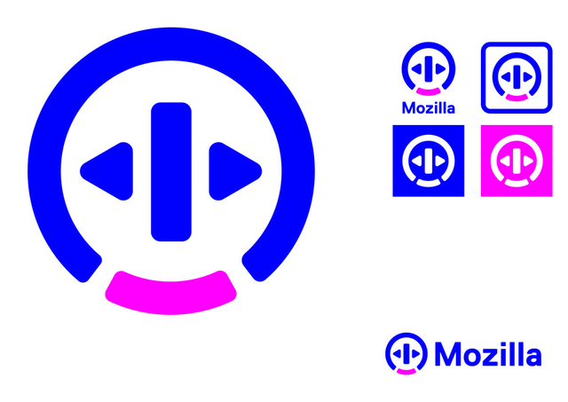 Mozilla логотип The Open button