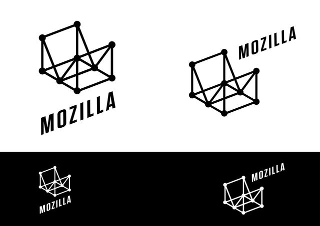Mozilla логотип Wireframe World