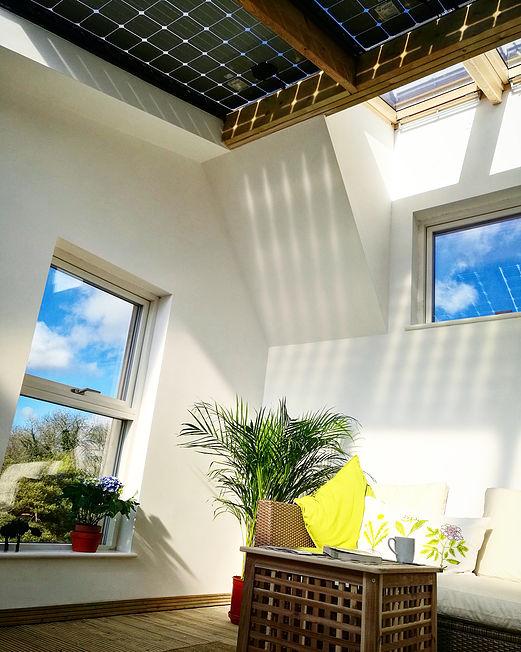 Крыша Zero Bills Home оснащена системой солнечных панелей