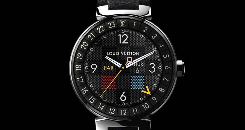Tambour Horizon — первые умные часы Louis Vuitton