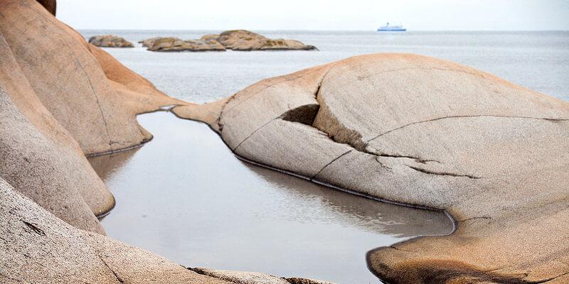 Скалы «svaberg»