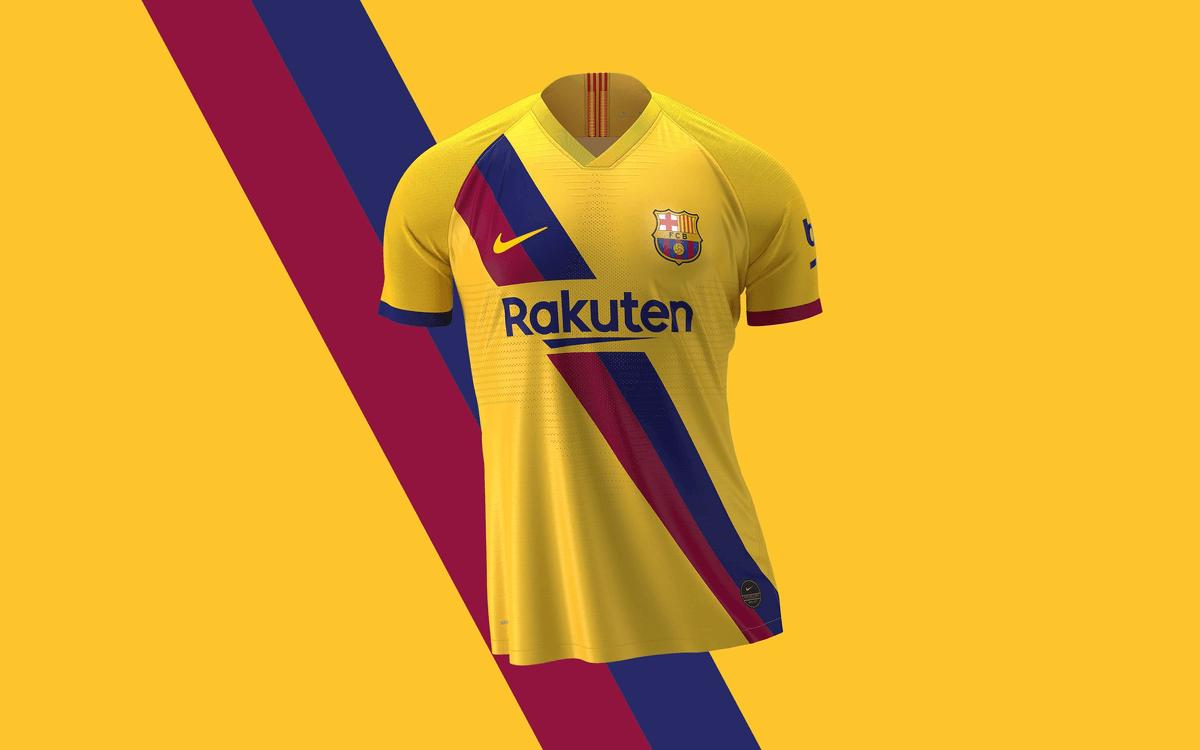 Дизайн выездной форма ФК Барселона сезона 2019/20 отсылает собой к 1979 году